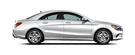 Mercedes Benz CLA 250 Coupe Jellybean