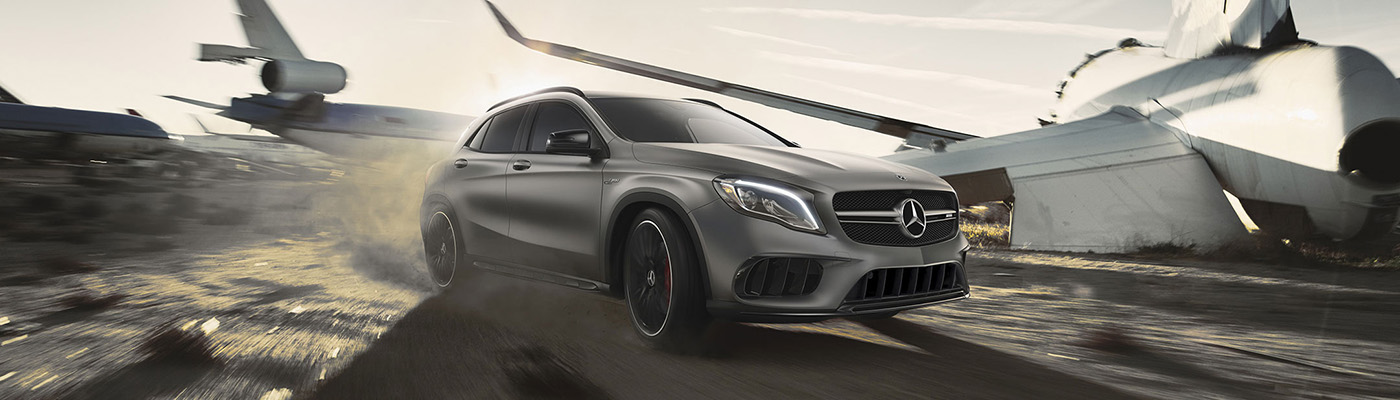 Mercedes Benz GLA SUV Gallery