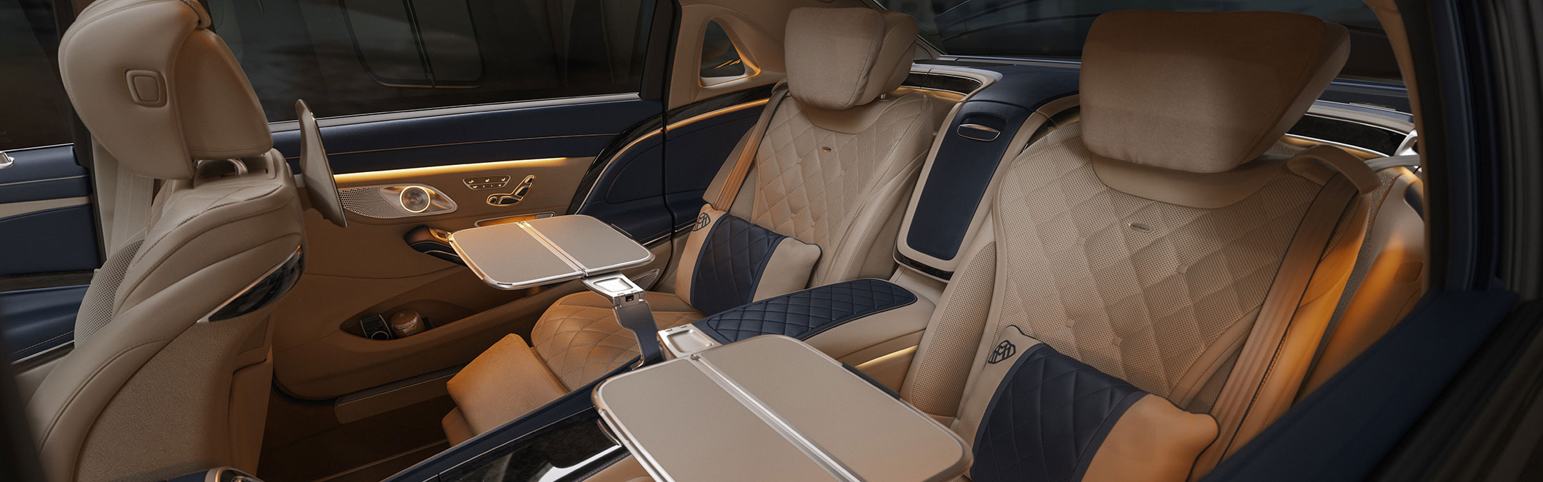 Mercedes Maybach rear seats