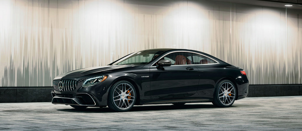 Black S-Class Coupe