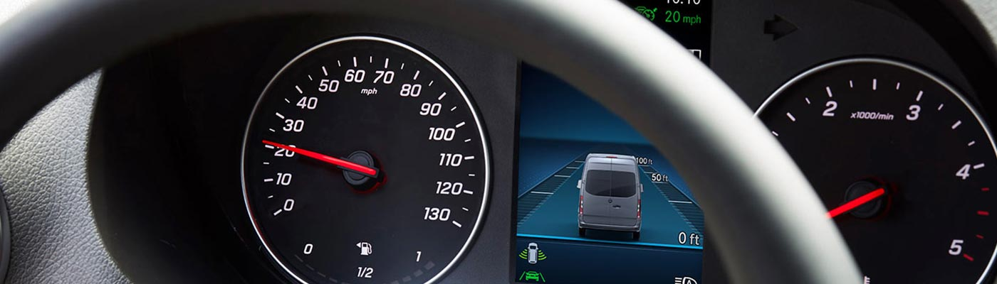 2019 Sprinter Passenger dashboard gauges