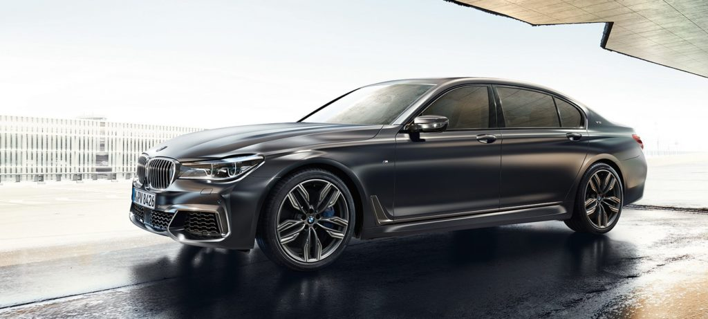 The BMW M760Li xDrive with 600hp and 590 lb-ft torque