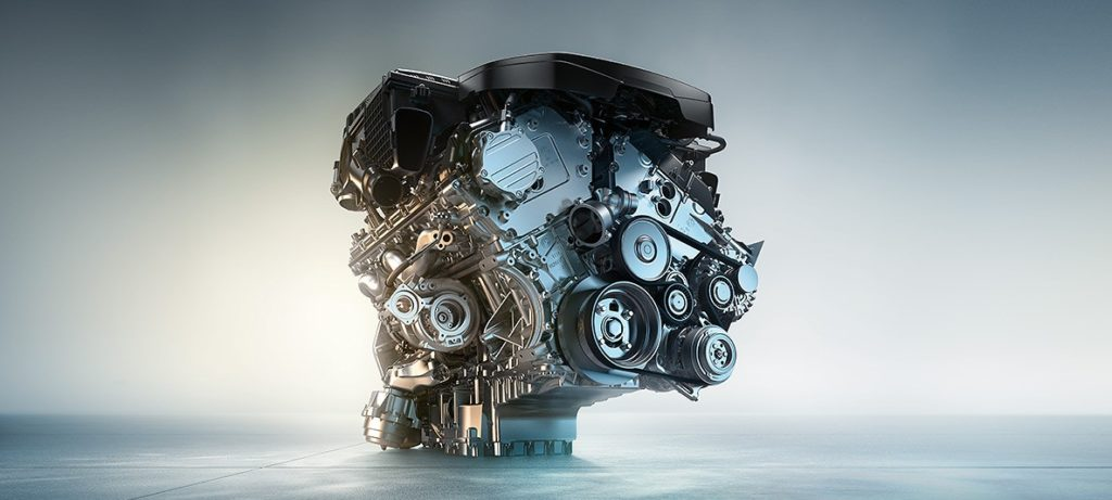 M PERFORMANCE TWIN POWER TURBO 12-CYLINDER PETROL ENGINE.