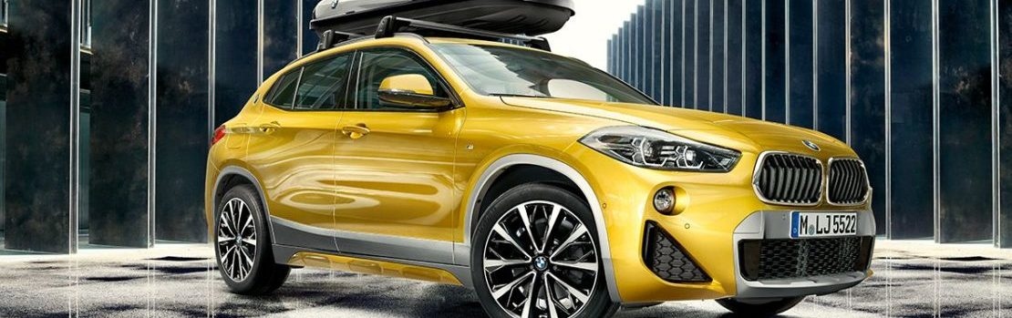The unique and luxurious BMW X2