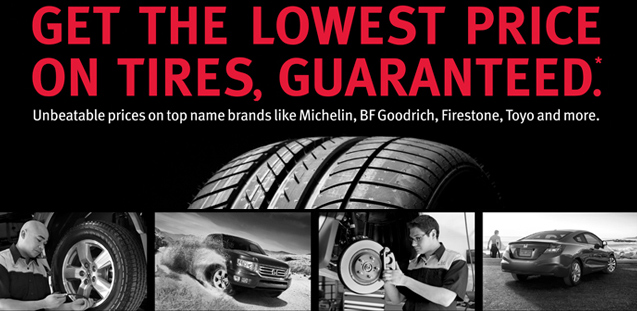 lowest price on tires