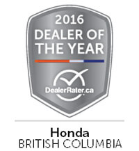 2016 Dealer of the Year
