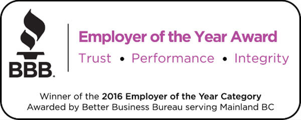 2016 Employer of the Year