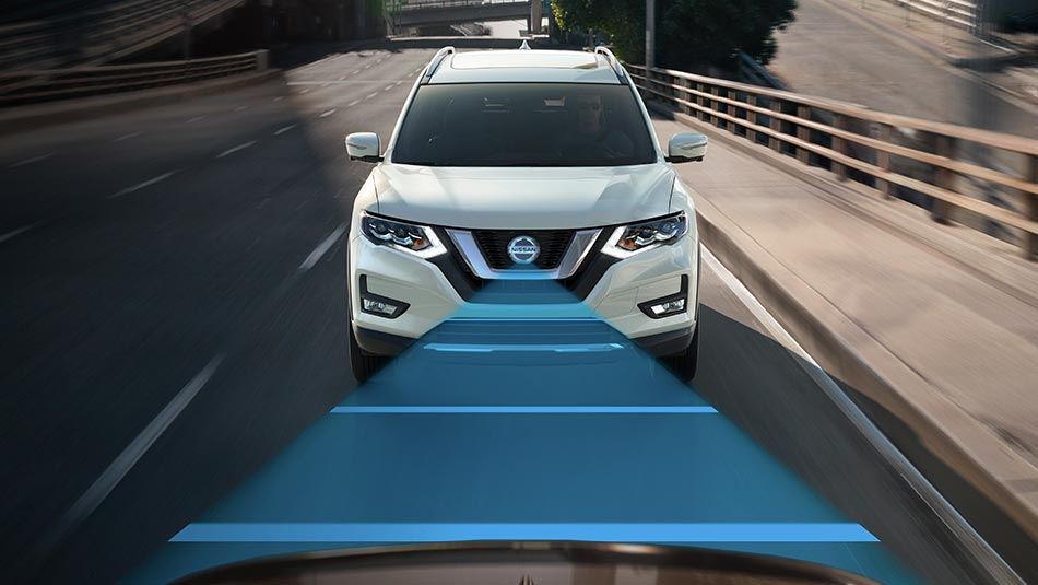 2019 Nissan Rogue LED lights