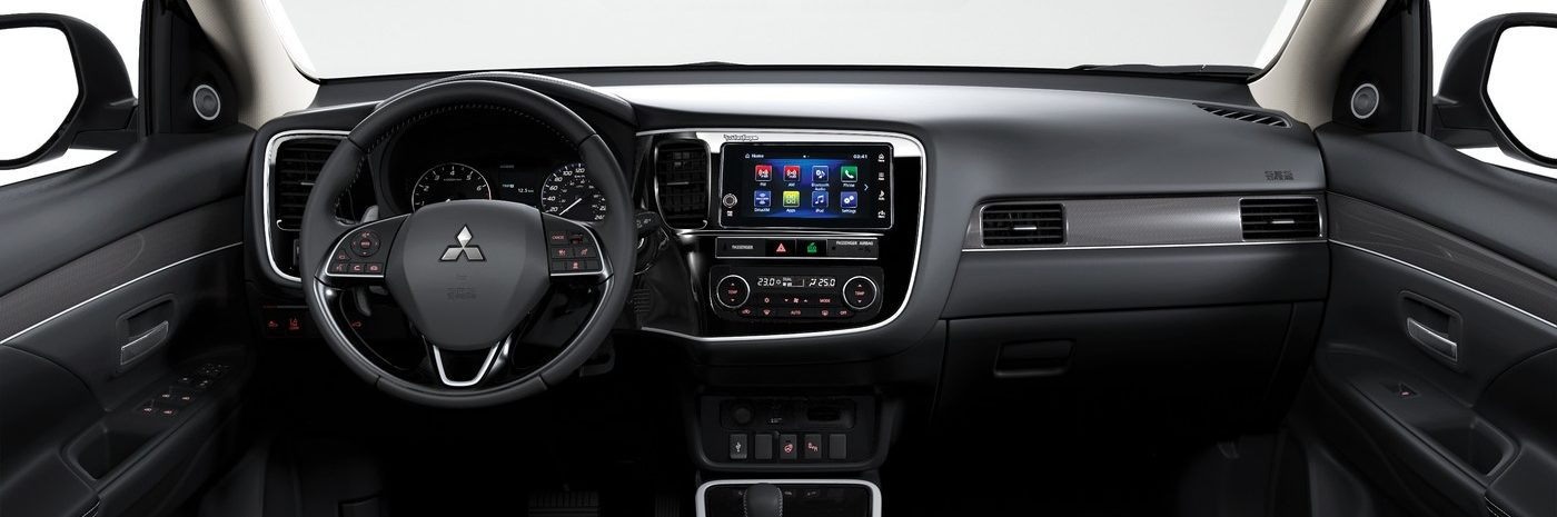 2019 mitsubishi outlander dashboard