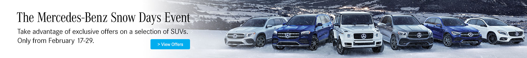 Mercedes-Benz Snow Days Event