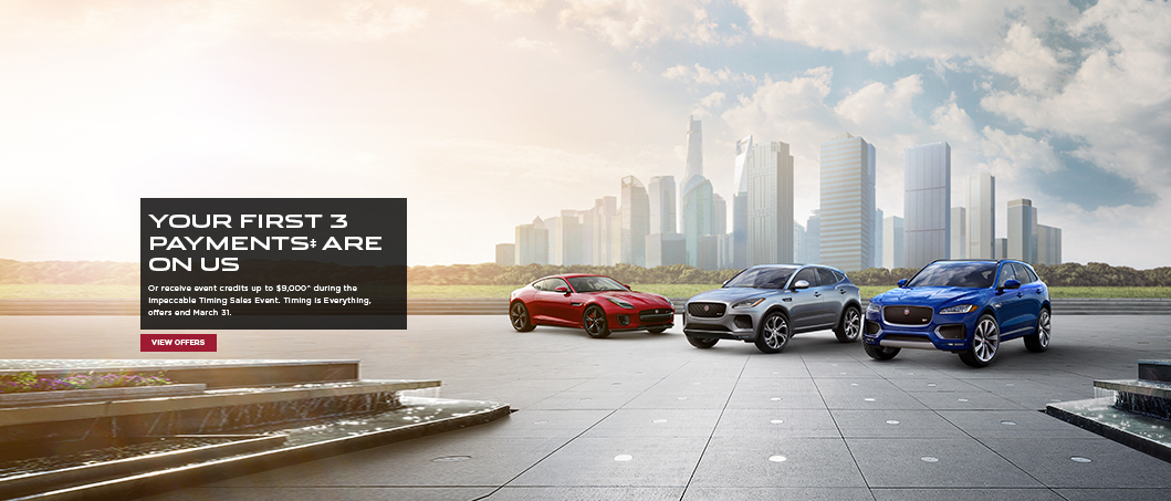 Jaguar 2020 March offer