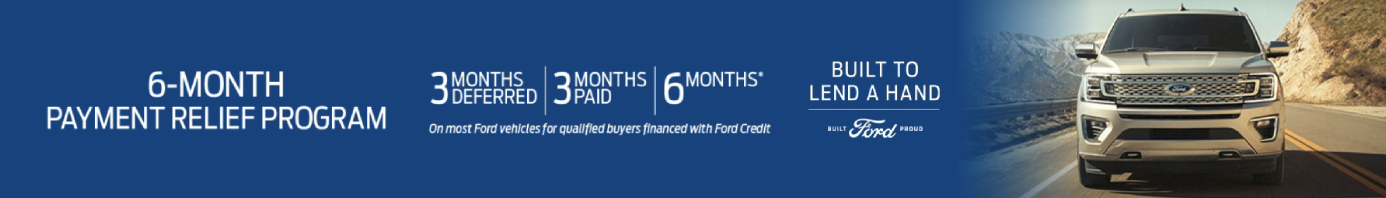April 2020 Ford Incentive Offer