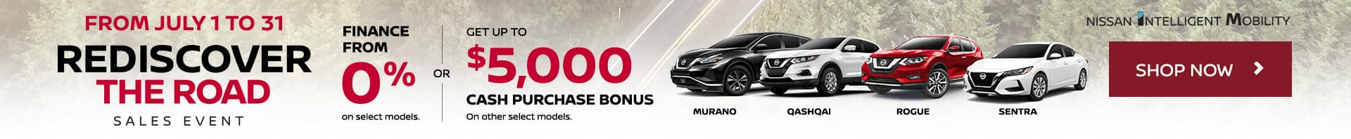 Nissan July 2020 Oem Offer 68x7