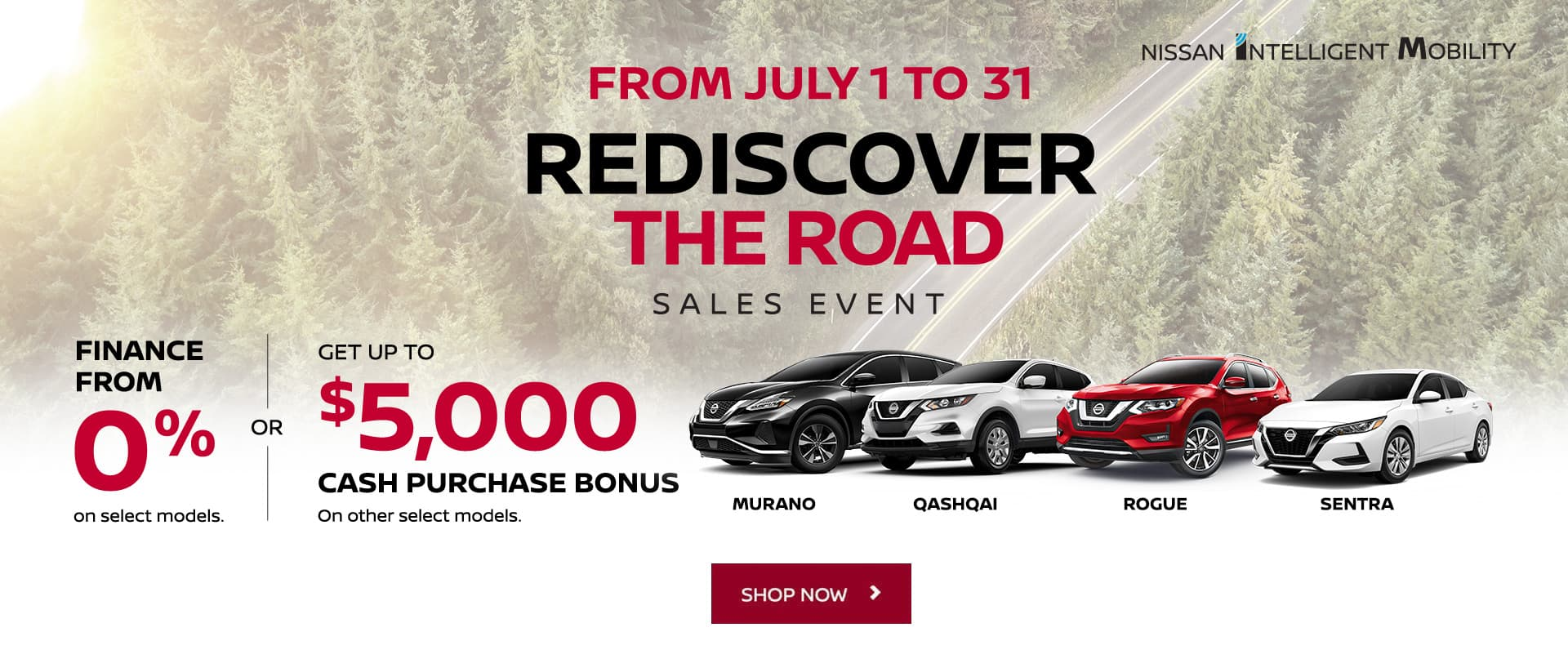 Nissan July 2020 Oem Offer