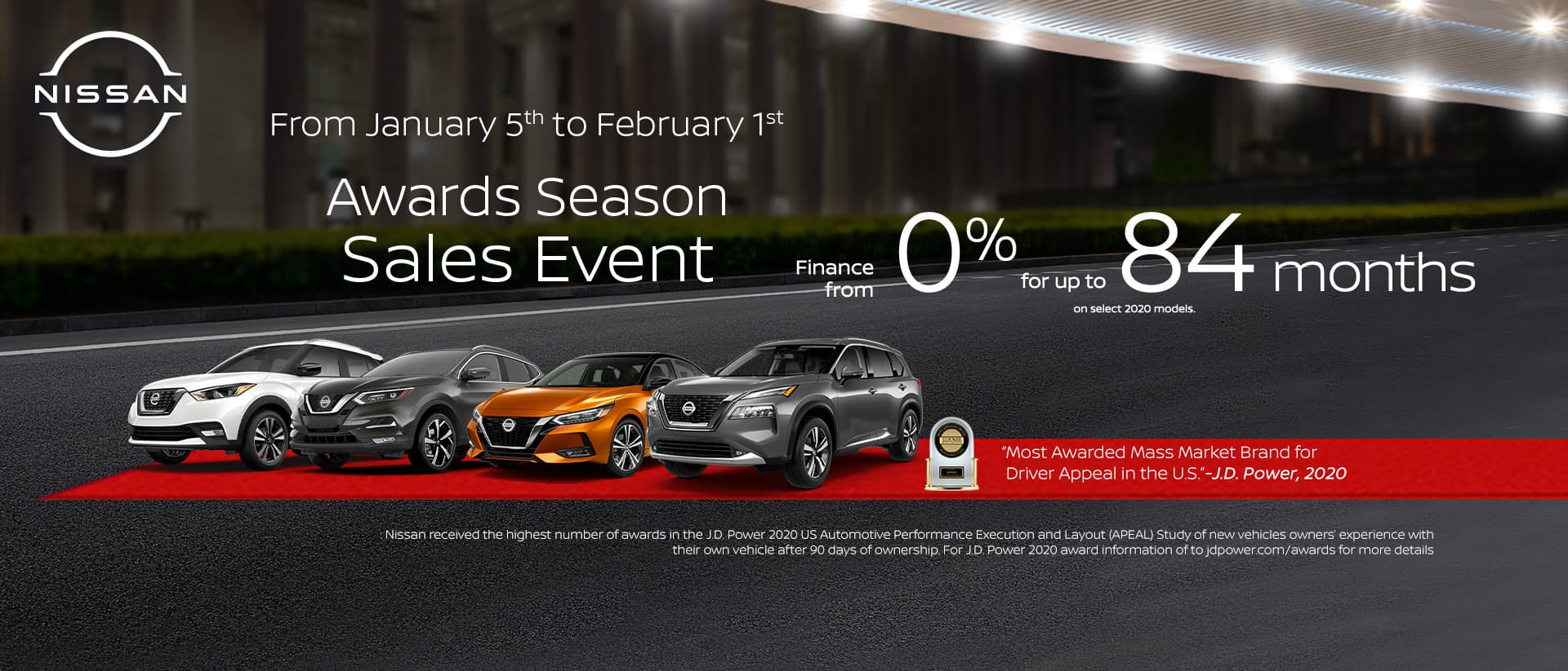 Nissan Jan 2021 OEM Offer