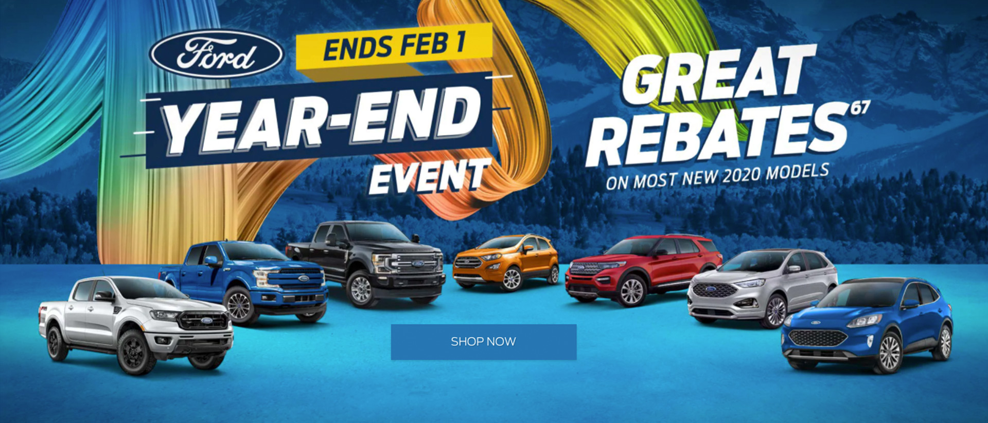 Ford January 2021 OEM Offer