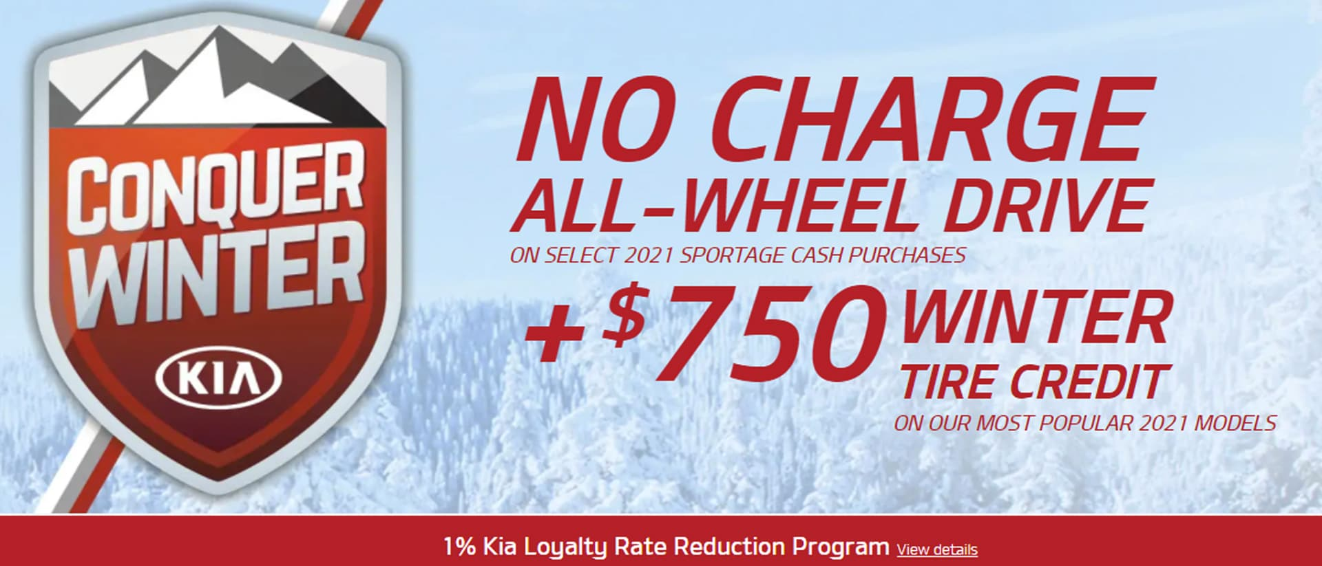 Kia Jan Oem Offer Slide 21x9