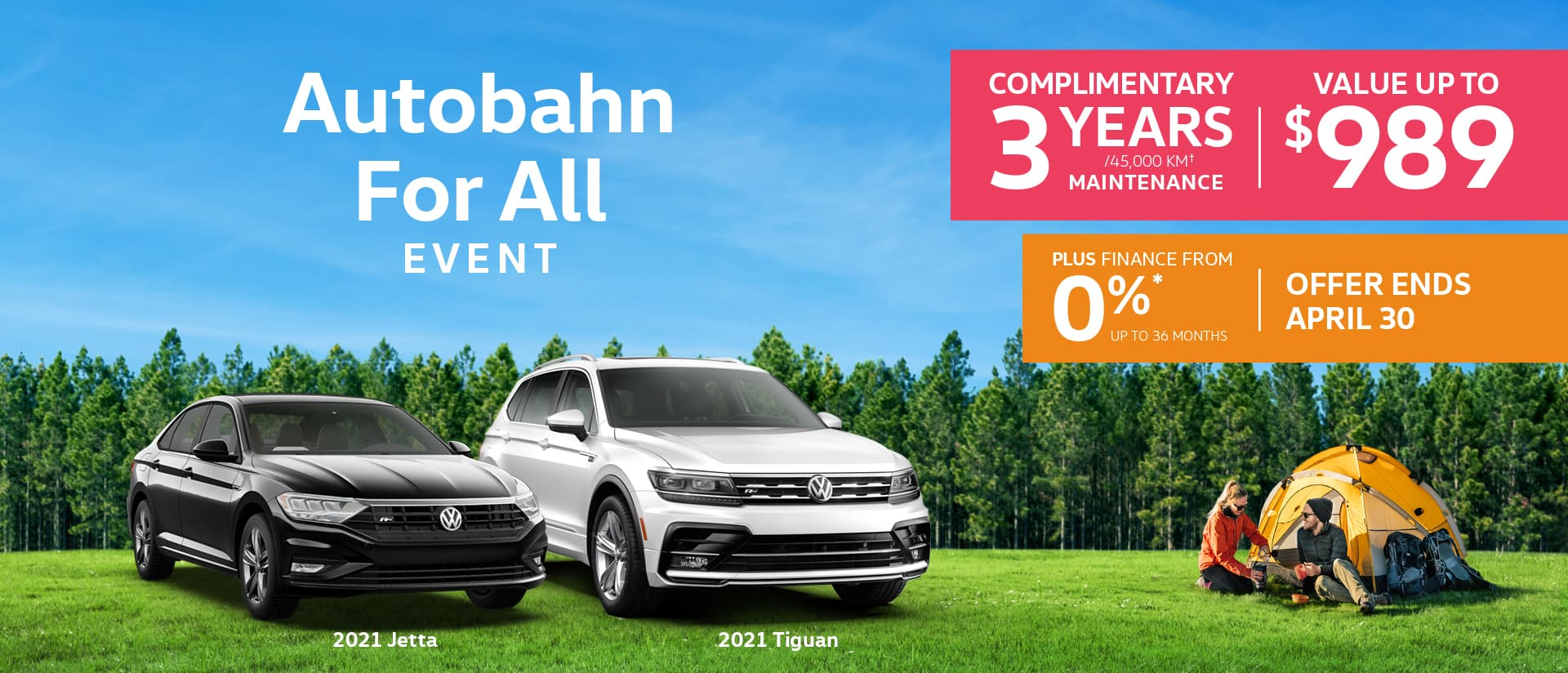 VW APRIL OFFER
