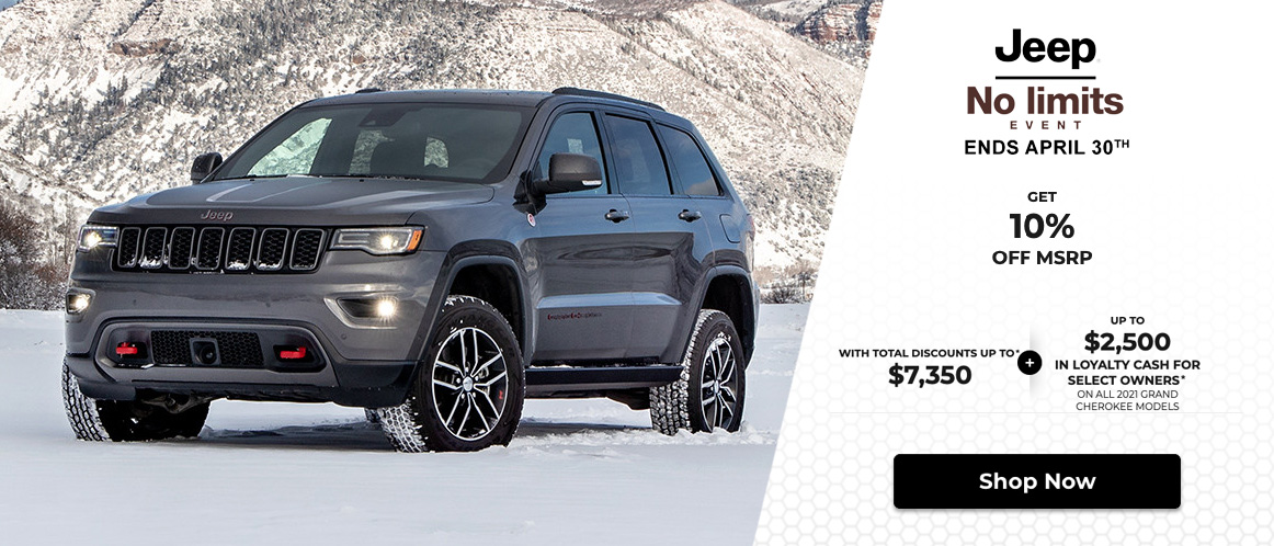 Jeep Monthly 2021 Offer Mobile