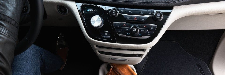 Chrysler Pacifica rotary shifter