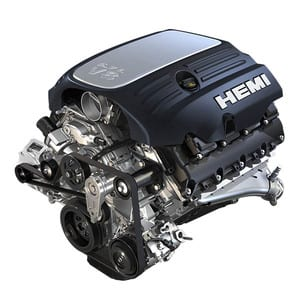 The 5.7 HEMI® VVT V8 Engine