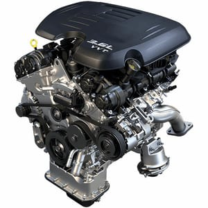 The 3.6L Pentastar® VVT V6 Engine