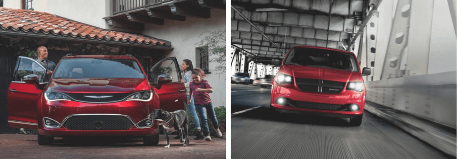 Chrysler Pacifica vs. Dodge Grand Caravan