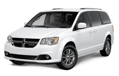Dodge Grand Caravan SXT Premium Plus in Bright White Jellybean