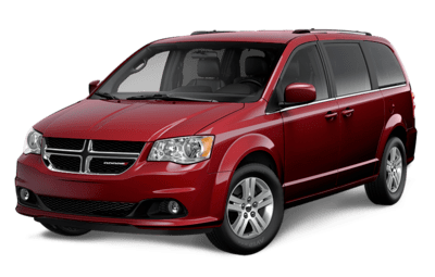 Dodge Grand Caravan Crew in Octane Red Pearl Jellybean