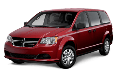 Dodge Grand Caravan Canada Value Package in Octane Red Pearl Jellybean