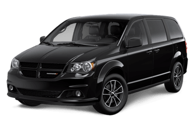 Dodge Grand Caravan Blacktop in Brilliant Black Crystal Pearl Jellybean