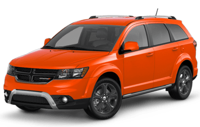 Dodge Journey Crossroad in Spitfire Orange Jellybean