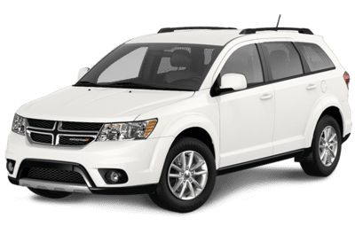 Dodge Journey SXT in White Jellybean