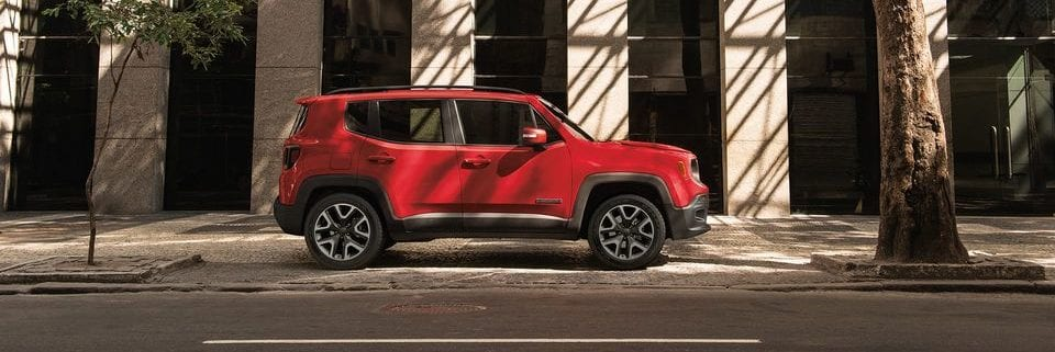 2018 Jeep Renegade explore in style, shown in red