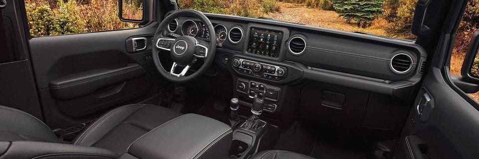 jeep compass interior shot