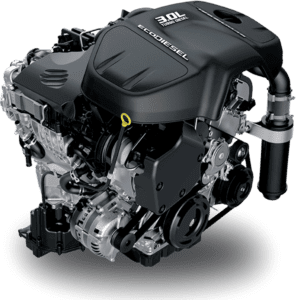 The Ram 1500's EcoDiesel engine