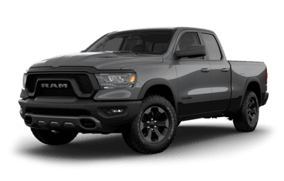 2019 RAM 1500 Rebel Jellybean in Billet Metallic