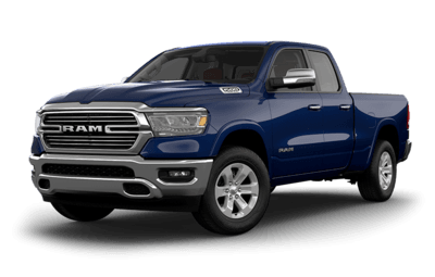 2019 RAM 1500 Laramie Jellybean in Patriot Blue Pearl