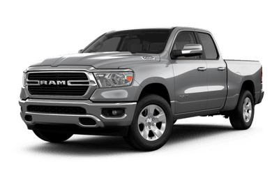 2019 RAM 1500 Big Horn Jellybean in Billet Metallic