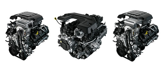 All Engine Type for RAM 1500 2019
