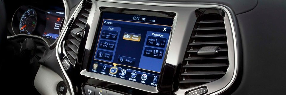 Uconnect System in Jeep Cherokee