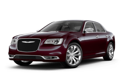 Chrysler 300 Limited in maroon