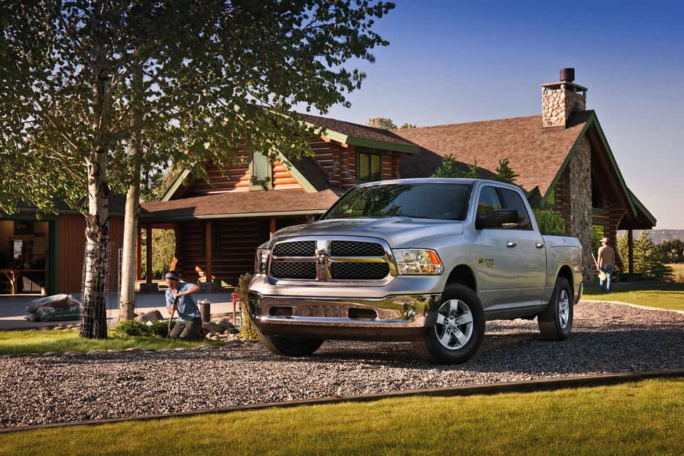 2019 Ram 1500 Classic exterior view, parked, shown in silver