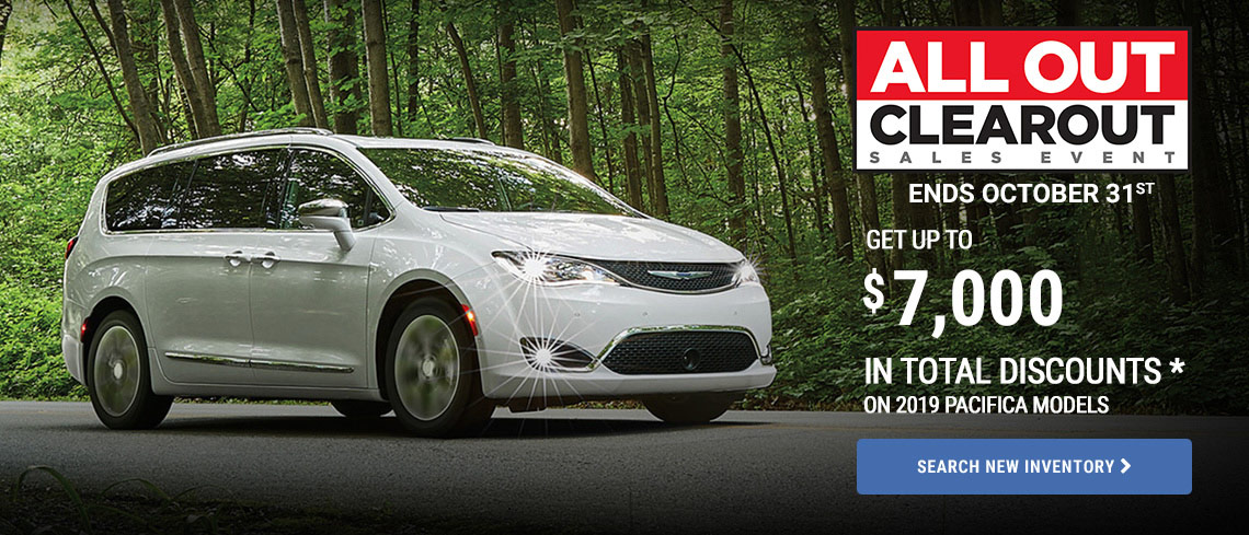 Chrysler October 2019 OEM Offer