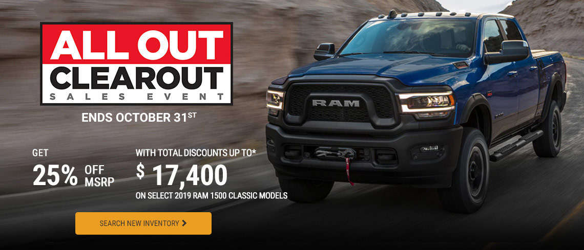 RAM October 2019 OEM Offer