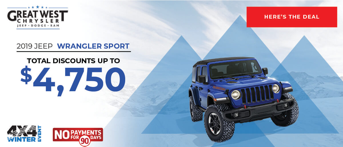 Jeep Wrangler Feb 2020
