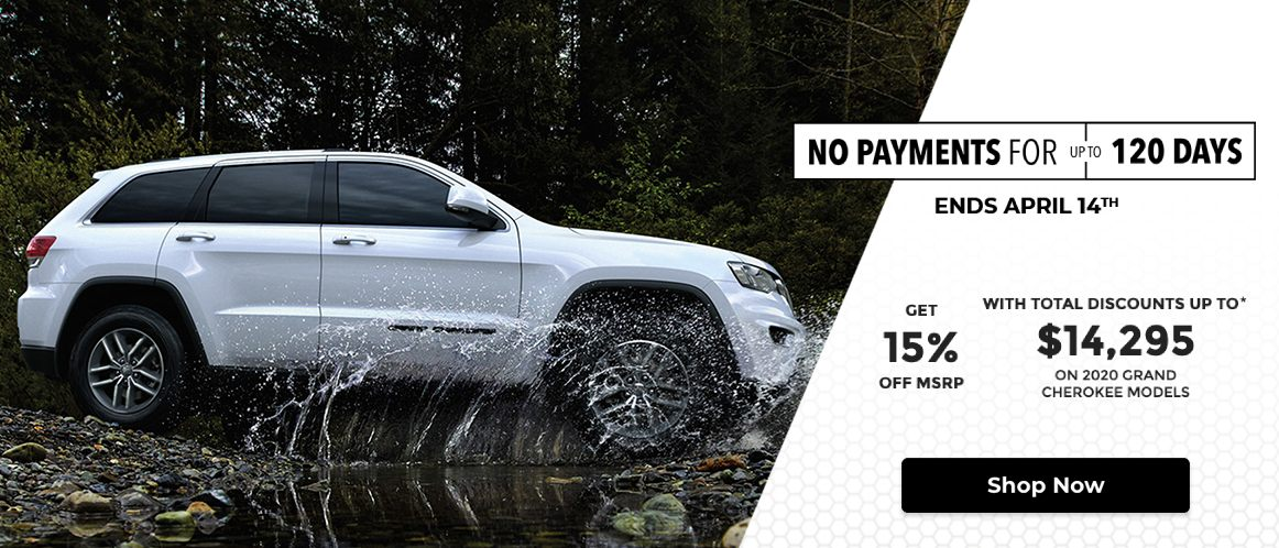 Jeep April 2020 Mobile Incentive