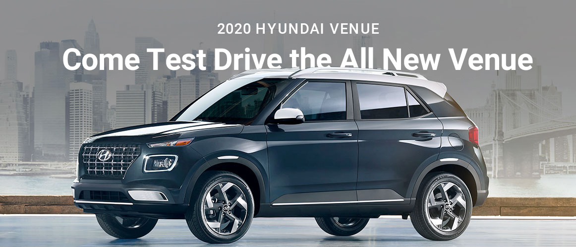 Test Drive The 2020 Venue