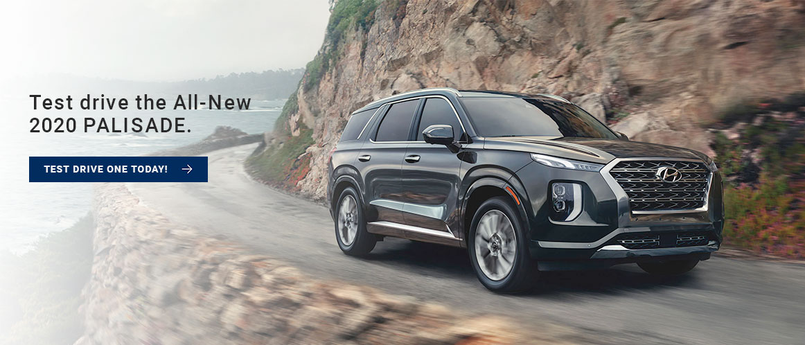 2020 Palisade - Book a Test Drive Now!