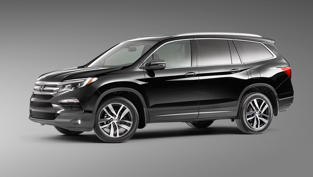 Rain-sensing windshield wipers are available for the 2019 Honda Pilot.